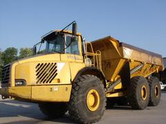 Articulated dump truck Volvo