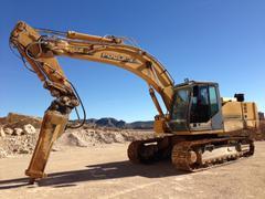 Wheel excavator Case-Poclain