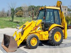 Backhoe loader JCB