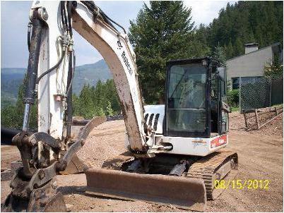 Track excavator Bobcat