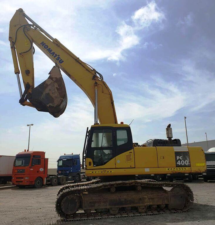 Track excavator Komatsu