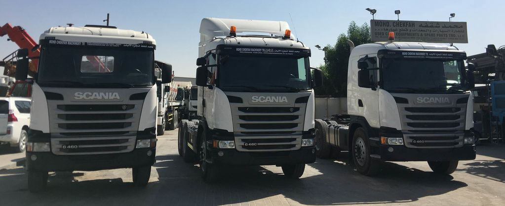 Tractor Unit Scania
