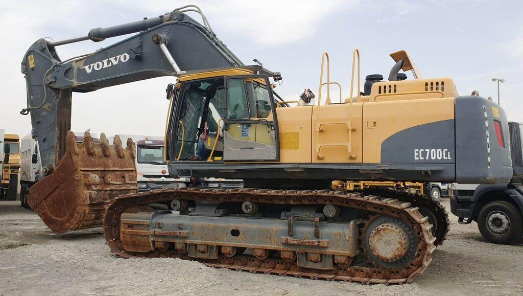 Track excavator Volvo