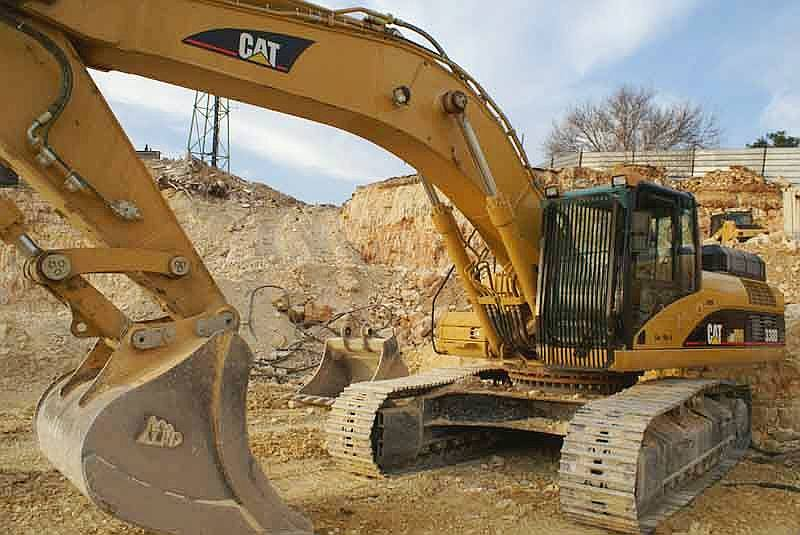 Industrial excavator Caterpillar
